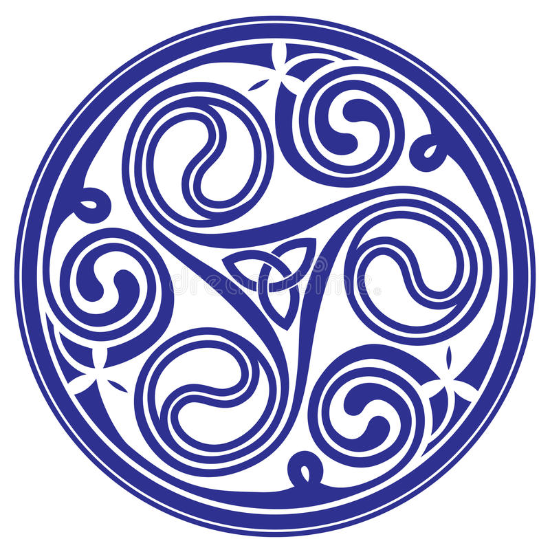 Celtic ornament stock illustration