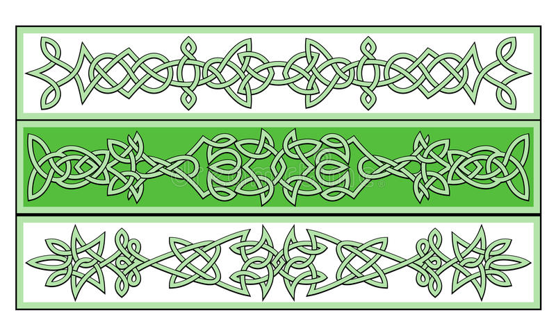 Download Celtic ornaments stock vector. Image of ethnic, floral - 20140019