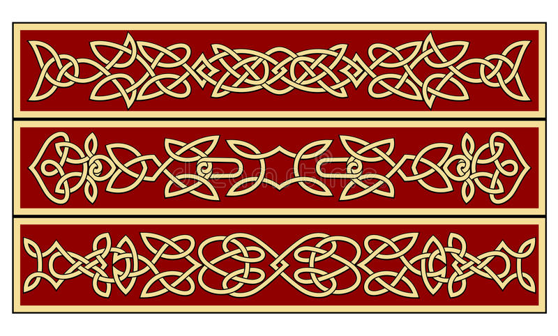 Celtic ornaments vector illustration