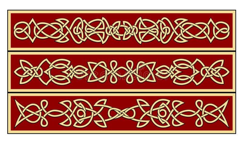 Celtic ornaments royalty free illustration