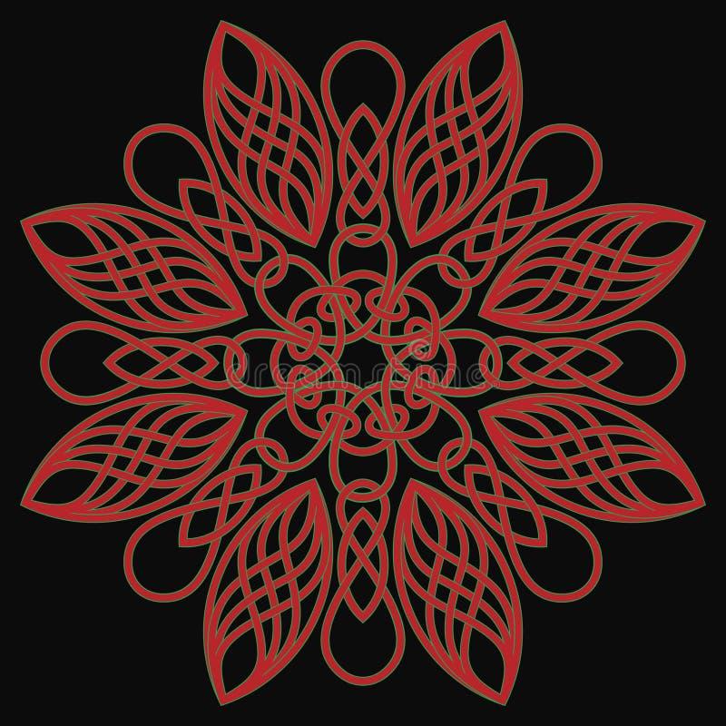 Download Celtic pattern stock vector. Illustration of ornamental - 7551687