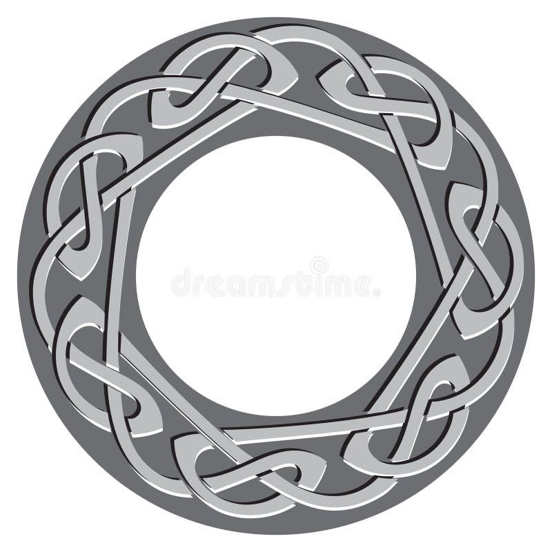 Celtic pattern, celtic knot royalty free illustration