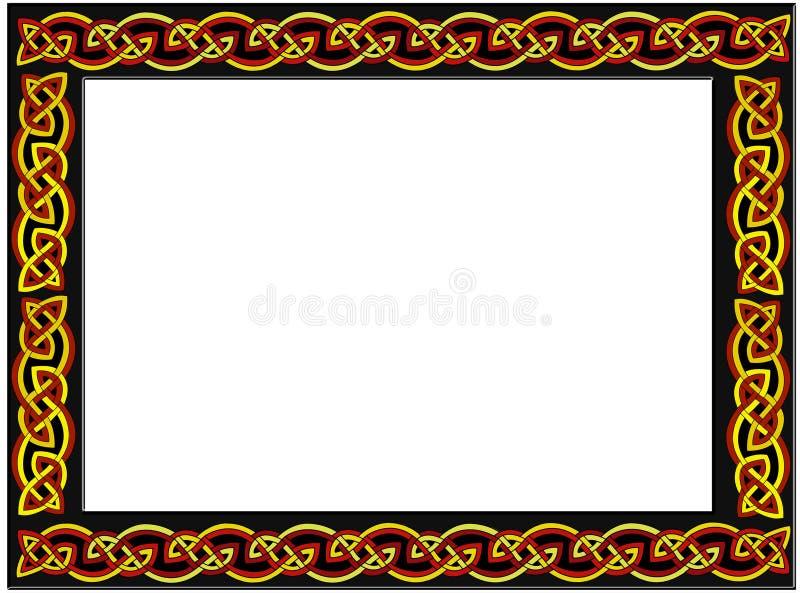 celtic ram royaltyfri illustrationer
