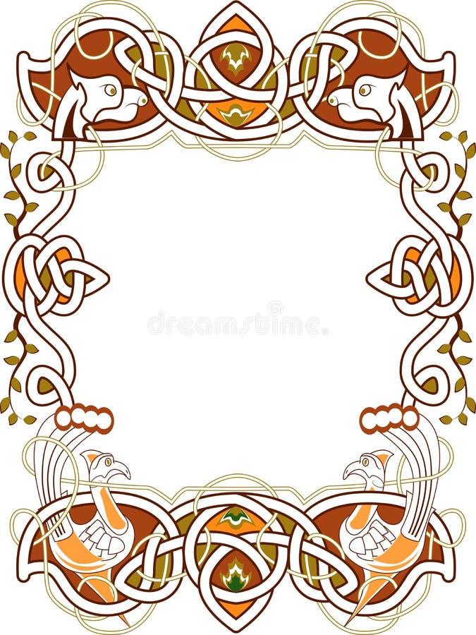 celtic ram stock illustrationer