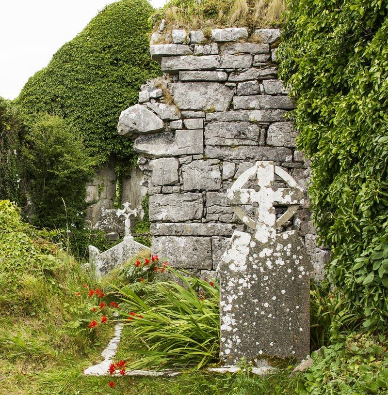 Celtic ruins stock photo