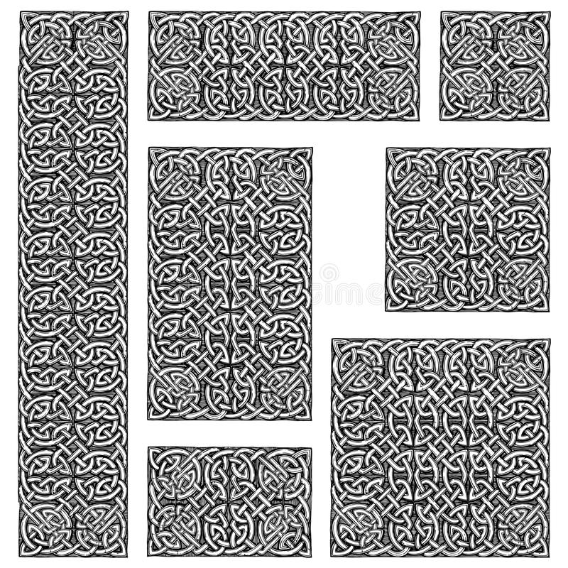 Celtic seamless pattern vector illustration