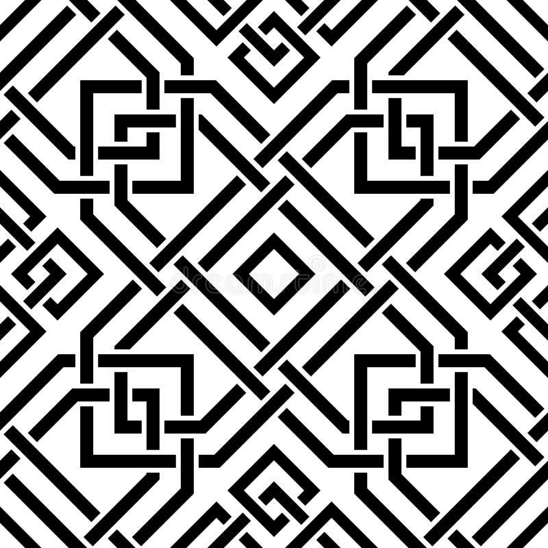 Celtic seamless pattern royalty free illustration