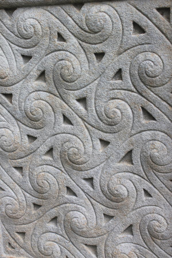 Free Celtic Stone Ornament Stock Photography - 77506602