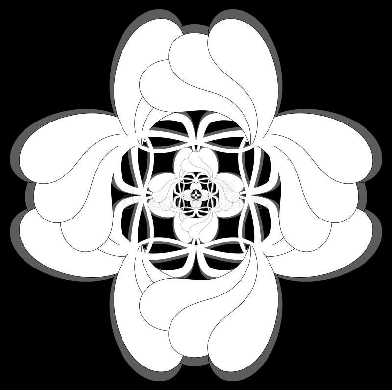 Celtic style icon stock image