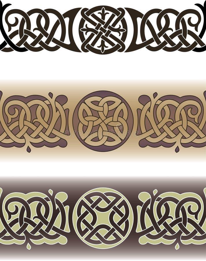 Celtic tattoo pattern royalty free illustration