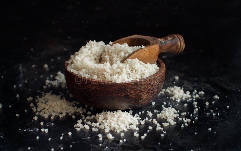 Celtico Grey Sea Salt dalla Francia fotografia stock libera da diritti