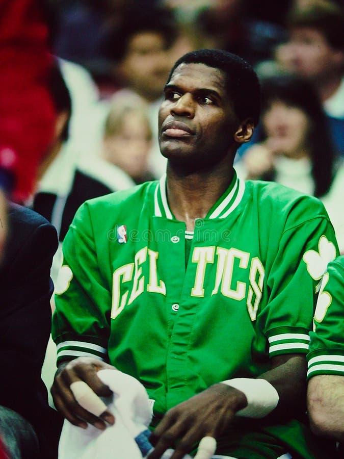 Celtics de Roberto Parrish Boston fotos de archivo