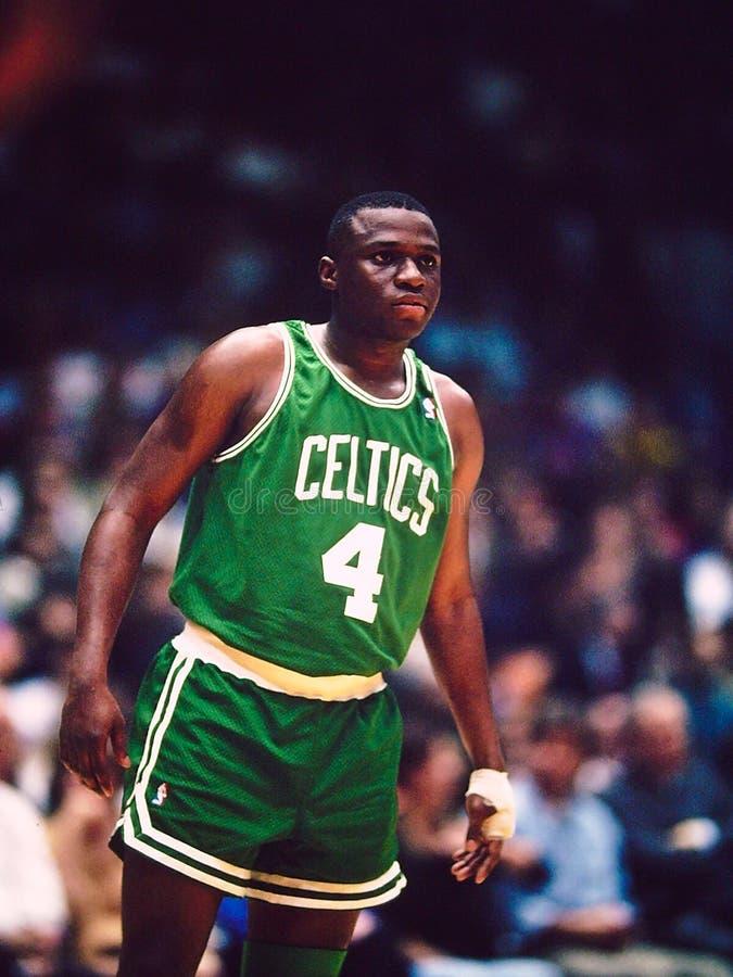 Celtics de Sherman Douglas Boston imagenes de archivo
