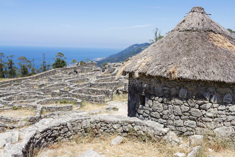 Celtycka ugoda w Pontevedra Galicia Hiszpania fotografia royalty free