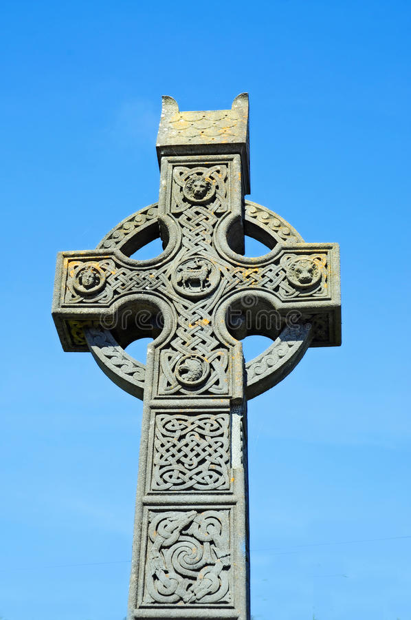 Celtycki krzyż obrazy royalty free