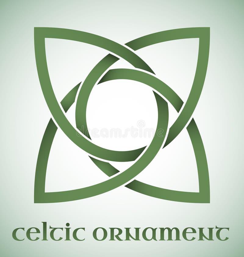 Celtycki ornament z gradientami ilustracji