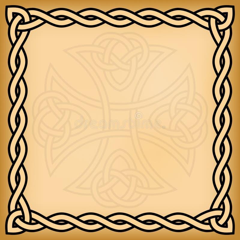 Celtycki tło royalty ilustracja