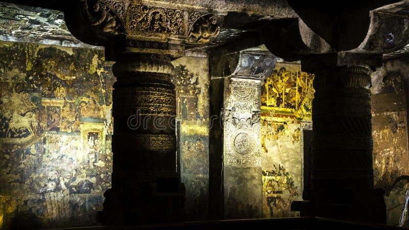 Celui avec le pilier d'or images stock