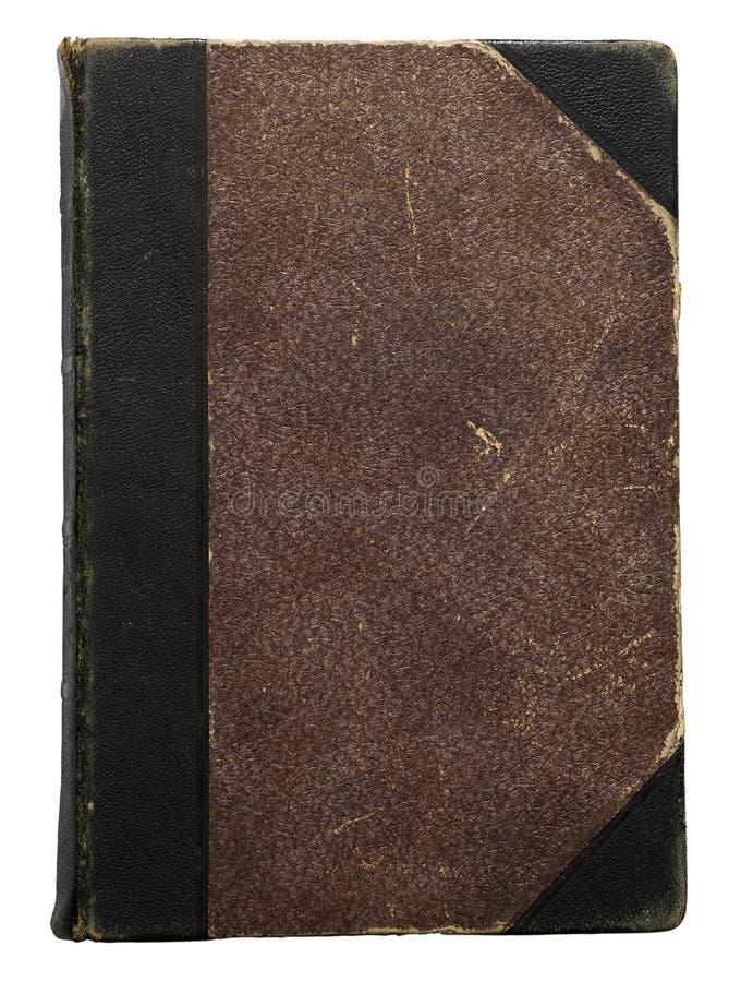 Cem anos de livro de hardcover velho fotografia de stock royalty free