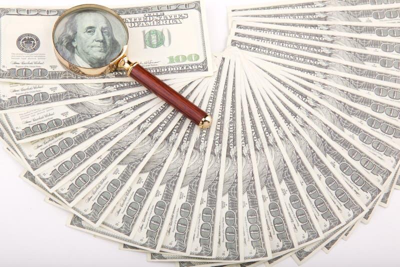 Cem Dólares De Divertimento E Laço E Laço Foto de Stock
