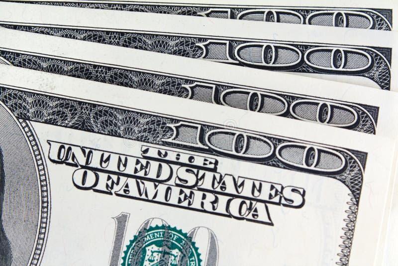 Cem dinheiros do dólar fotos de stock royalty free