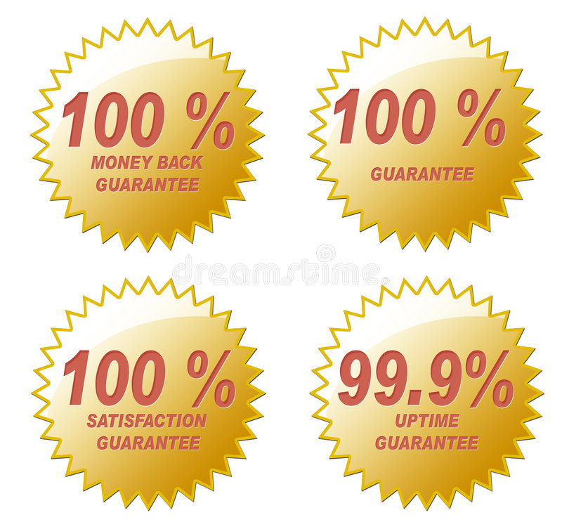 Cem por cento imagem de stock royalty free