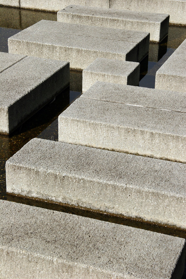Cement Blocks. Royalty Free Stock Photography