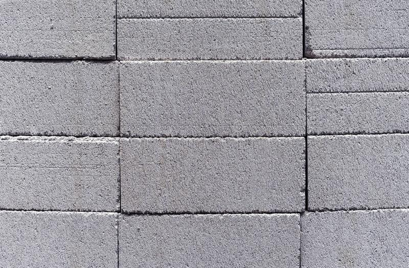 Cement blocks. Background of cements slag blocks royalty free stock photo
