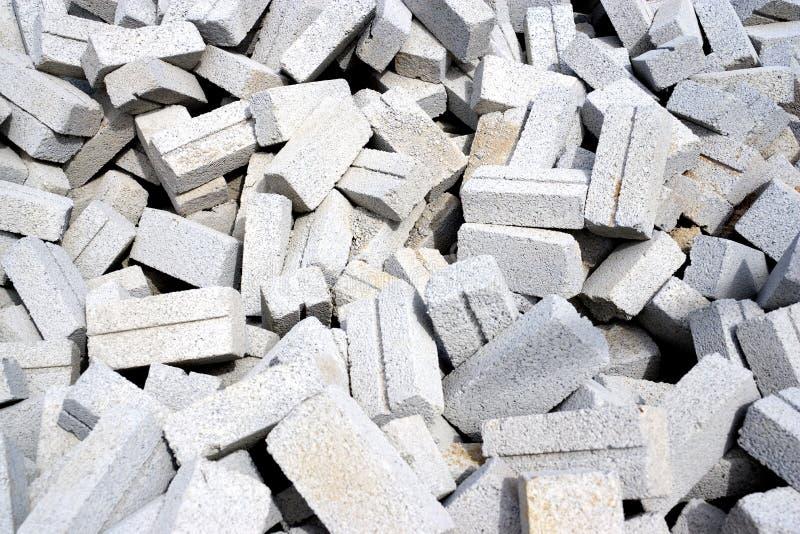 Cement Bricks Stock Image