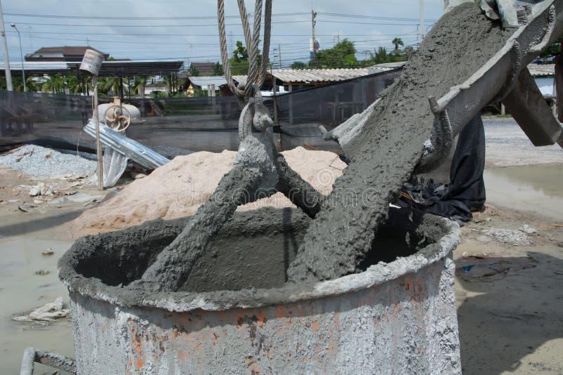 Cement dla domowego budowniczego obrazy stock