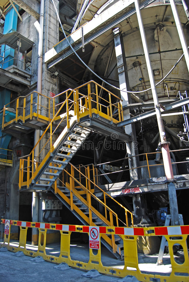 Download Cement factory stock image. Image of work, plant, cement - 6015863