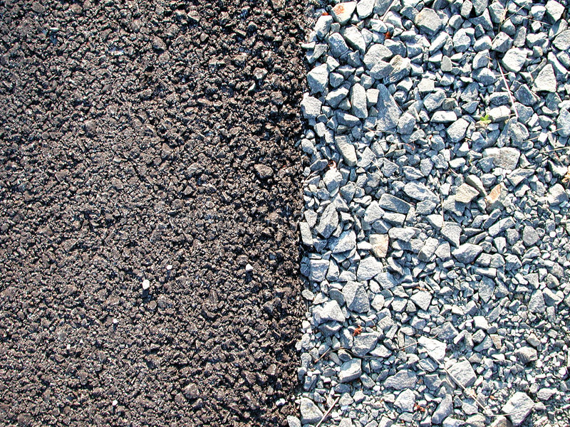 Cement Gravel Rocks Textures. From a driveway, pavement and crushed rock textures. Useful as a background or textured layer stock images