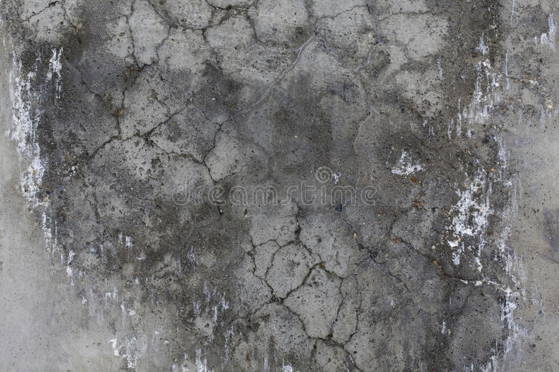 Download Cement Grey Wall With Cracks. Royalty Free Stock Image - Image: 10174076