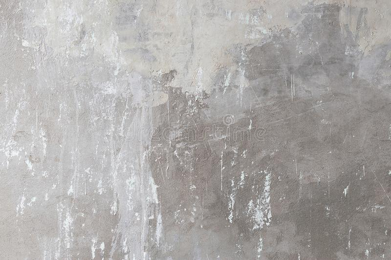 Cement grunge concrete wall texture as a background in gray tone royalty free stock image