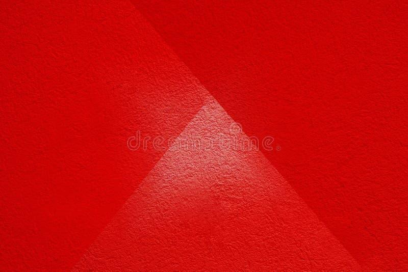 Cement Les murs en plâtre rouge ont une surface rugueuse photos libres de droits