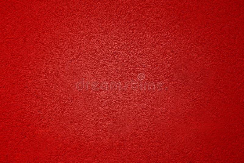 Cement Les murs en plâtre rouge ont une surface rugueuse images libres de droits