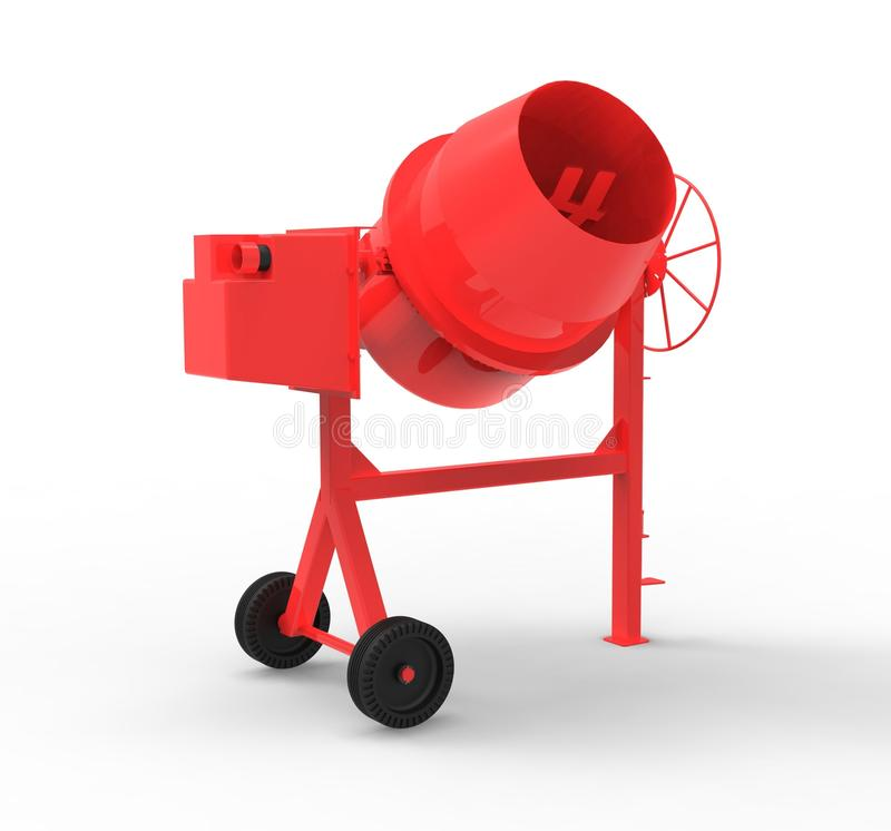 Download Cement Mixer Royalty Free Stock Photos - Image: 25930358