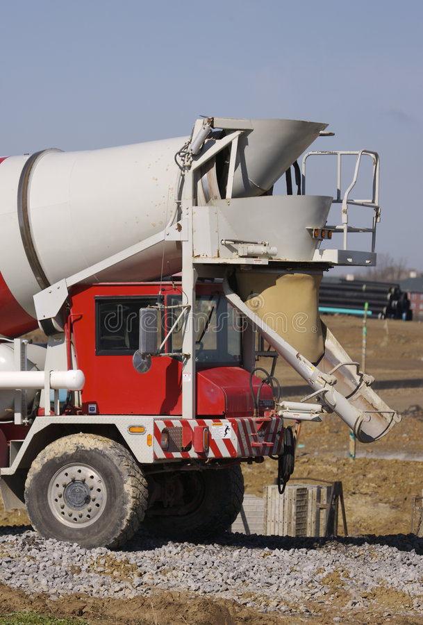 Download Cement Mixer stock image. Image of color, dump, industry - 715791
