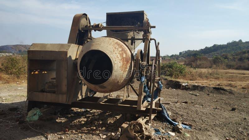 Cement Mixer stock photography
