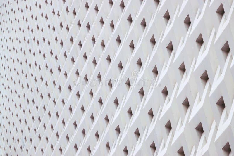 Cement panel Architecture details Geometric Pattern Architecture details. Cement panel Architecture details Geometric Pattern Architecture stock photo