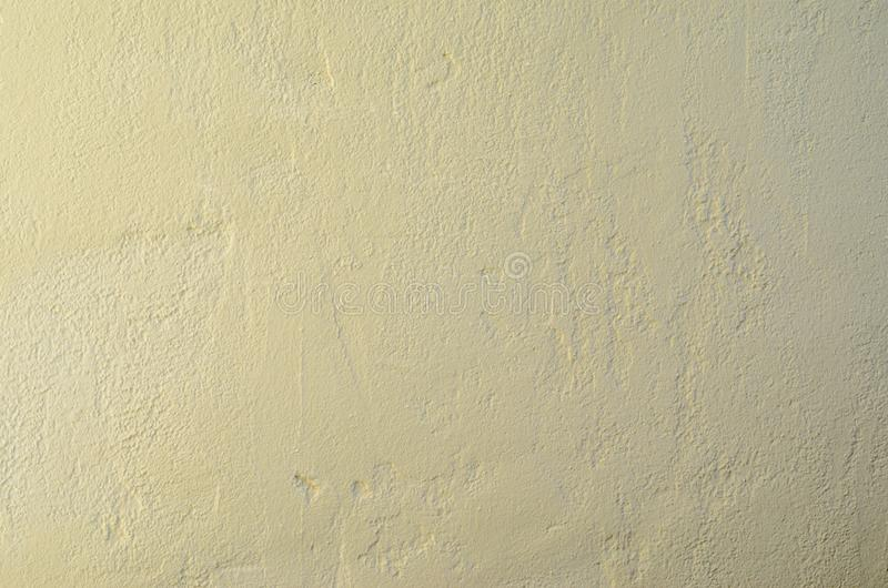 Plaster Wall Background. Cement Plaster Wall Texture. Clear Blank Background royalty free stock photo