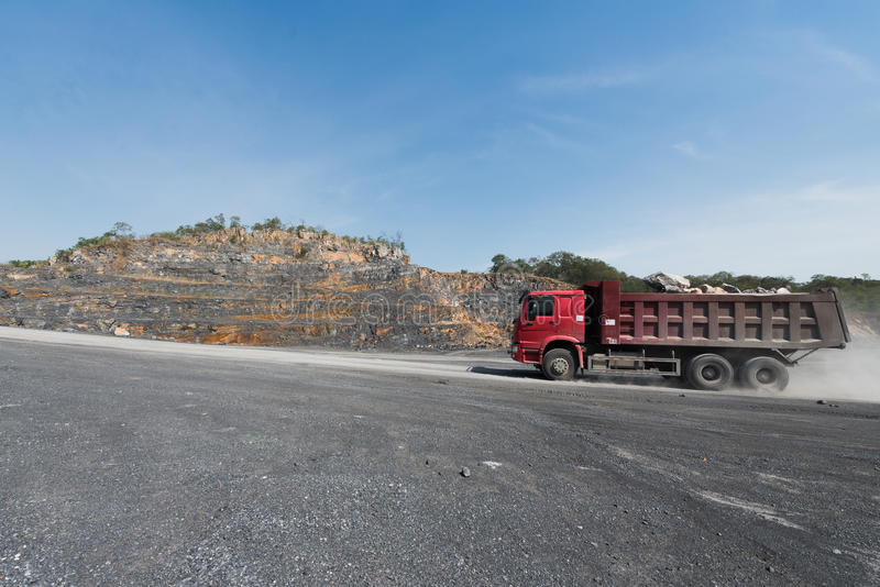Cement quarry royalty free stock photography