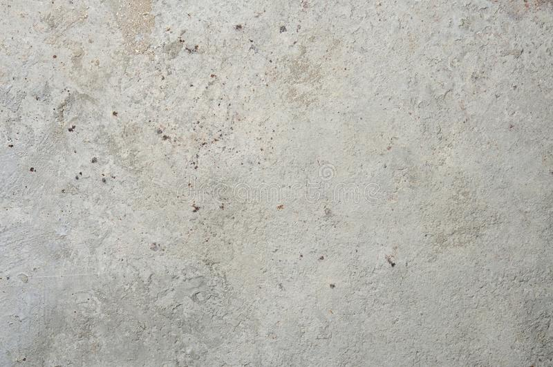 Cement on rusty metal for background. Cement, concrete and plaster on rusty metal for background stock photography