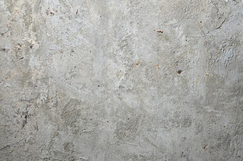 Cement on rusty metal for background. Cement, concrete and plaster on rusty metal for background stock photos