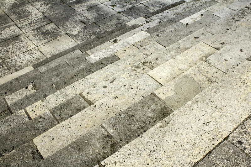 Cement Stairs stone. Dirty cement stairs urban building royalty free stock photos