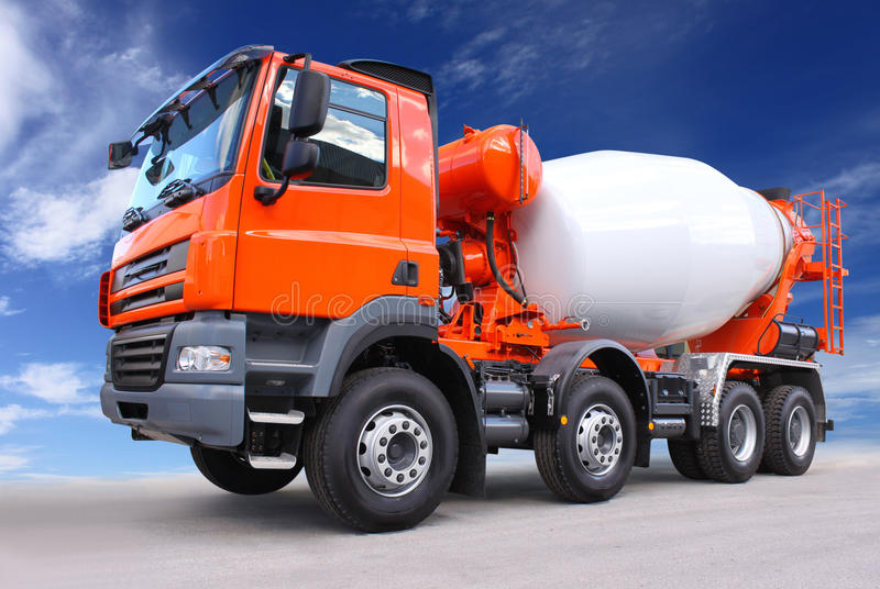 Download Cement truck stock image. Image of industry, construction - 17340105
