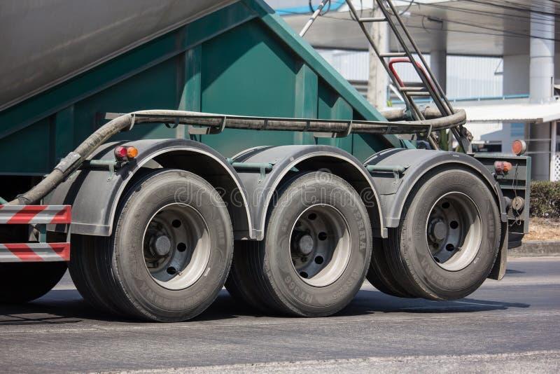Cement truck of Boon Yarit company. Chiangmai, Thailand - March 4 2019: Cement truck of Boon Yarit company.  On road no.1001, 8 km from Chiangmai city build stock photography