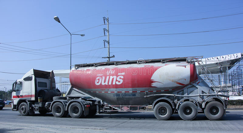 Cement truck royalty free stock image