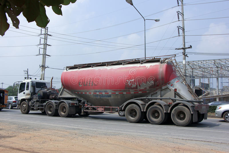 Cement truck royalty free stock images