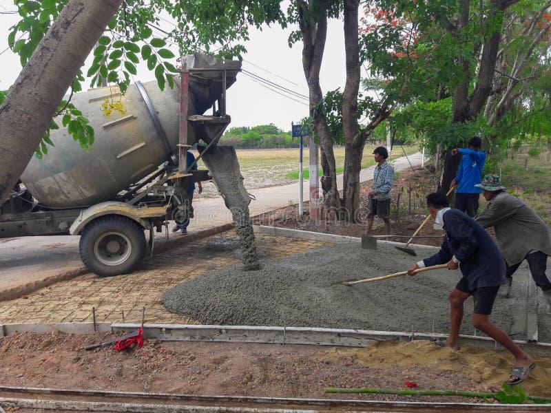 Cement Truck stock photos
